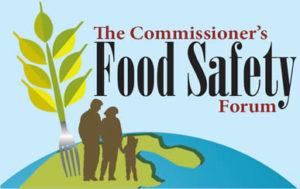 Commissioner's Food Safety Forum logo